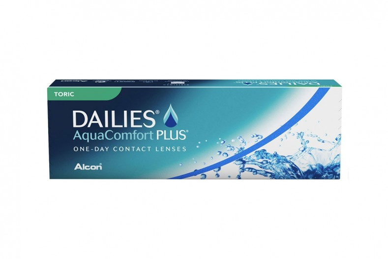 Dailies Aqua Comoft Plus Toric 30 pack